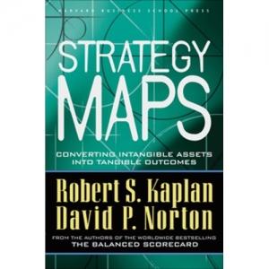 کتاب نقشه استراتژی کاپلان و نورتون استراتژِست