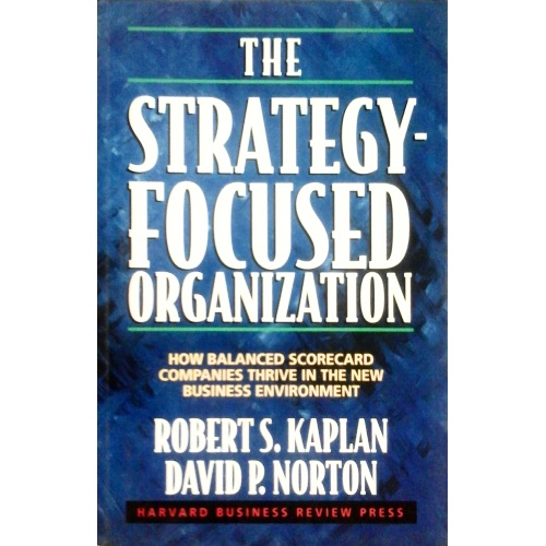 کتاب سازمان استراتژی محور کاربرد روش ارزیابی متوازن در اجرا و ارزیابی
