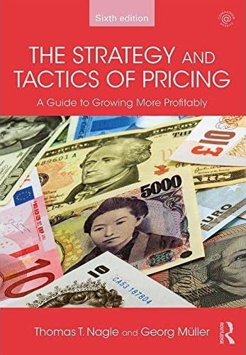 دانلود رایگان کتاب استراتژی ها و تاکتیک های قیمت گذاری